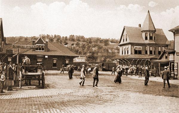 Depot Square, circa 1904